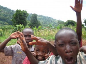 Notes From Kampala: Pearl of Africa; kids from the Kito village (Photo by Reta Raymond)