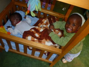 Sanyu Babies Home in Kampala, Uganda (Photo by Reta Raymond)